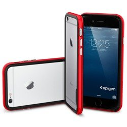 Pokrowiec SPIGEN Neo Hybrid EX do iPhone 6 6S Dante Red