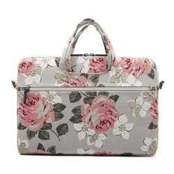 CANVASLIFE Briefcase Macbook Pro 15 White Rose Gray Case