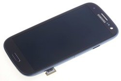 DISPLAY SAMSUNG Galaxy S3 I9300 Grade A Cracked Frame Demo Touch LCD Original Black