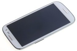 DISPLAY SAMSUNG Galaxy S3 I9300 Grade B Cracked Frame Demo Touch LCD Original White