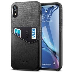 ESR Metro Apple iPhone XR Black gray Case For Card