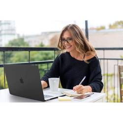 ETUI TECH-PROTECT SMARTSHELL MACBOOK AIR 13 2018 MATTE BLACK CZARNE CASE