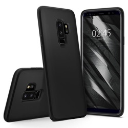 Etui SPIGEN Liquid Crystal Samsung Galaxy S9+ Plus G965 Czarny Case