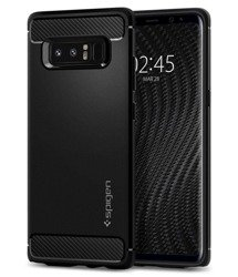 Etui SPIGEN Rugged Armor Samsung Galaxy Note 8 Matte Black Czarne Case