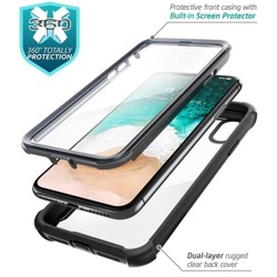 Etui SUPCASE IBLSN ARES Apple IPHONE XS MAX BLACK