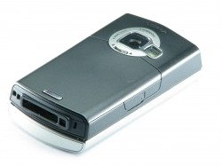 GENUINE HOUSING NOKIA N80 SILVER GRADE B