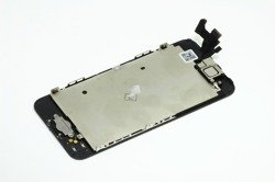 GENUINE TOUCH SCREEN & DIGITIZER ASSEMBLY DISPLAY LCD APPLE iPHONE 5S BLACK