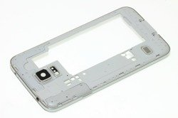 Housing Body Frame SAMSUNG Galaxy S5 Silver Grade A