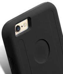IPhone 6 6S MELKCO Dual Layer Black Cover