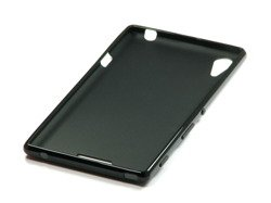 Jelly case for Sony Xperia T3 Black silicone