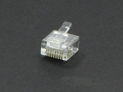 LAN plug RJ-11 8PIN PACKAGE - 30pcs.