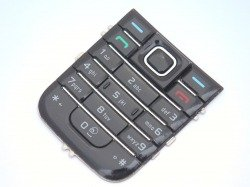NOKIA 6233 Keyboard Original Black Grade B