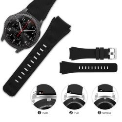 Pasek TECH-PROTECT Smoothband Samsung Galaxy Watch 46mm Grey Szary