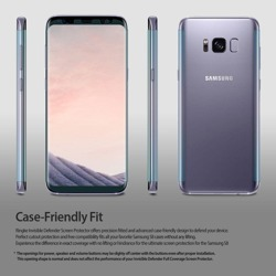 Ringke Invisible Defender Galaxy S8 Protective Film