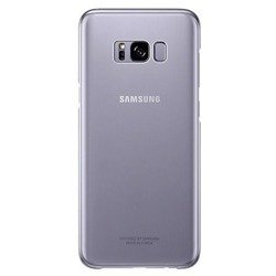 SAMSUNG Clear Cover Galaxy S8+ Plus Violet
