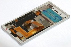 SONY Xperia M4 Aqua WHITE DISPLAY WITH LCD Touch Defect