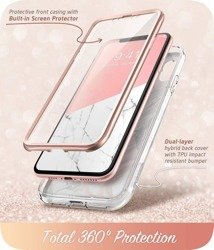 SUPCASE Cosmo Apple Iphone Xr Marble Pink Case