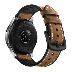 TECH-PROTECT Strap Osoband Samsung Galaxy Watch 46mm Vintage Brown Brown