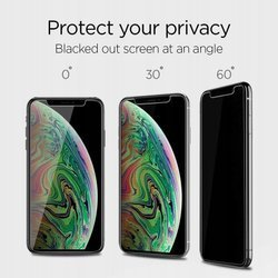 Tempered Glass SPIGEN Alm Glass Tr Apple Iphone 11 Pro Privacy