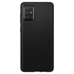 Etui SPIGEN Liquid Air Samsung Galaxy A51 Matte Black Czarne Case