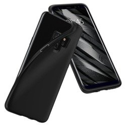Etui SPIGEN Liquid Crystal Samsung Galaxy S9 G960 Black Case