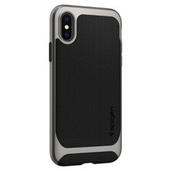 Etui SPIGEN Neo Hybrid Apple Iphone X Xs Gunmetal Szare Case