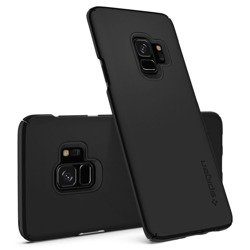 Etui SPIGEN Thin Fit Samsung Galaxy S9 Black Pokrowiec