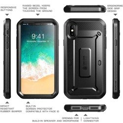 Etui SUPCASE UNICORN BEETLE PRO Apple IPHONE X XS
