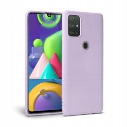Etui TECH-PROTECT Icon Galaxy M21 Violet Case