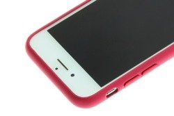 Etui iPhone 8 7 Apple Leather Case Oryginalne MQHG2ZM/A Pink Fuchsia Grade A Case
