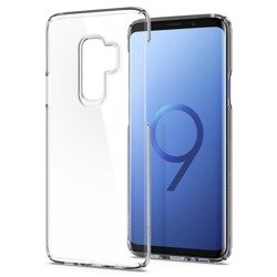 Etui Spigen Thin Fit Crystal Samsung Galaxy S9+ Plus Clear Pokrowiec