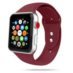 Pasek TECH-PROTECT Iconband Apple Watch 1/2/3/4/5/6 (42/44 MM) Bordo