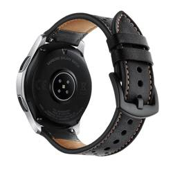 Pasek TECH-PROTECT Leather Samsung Galaxy Watch 3 45MM Black